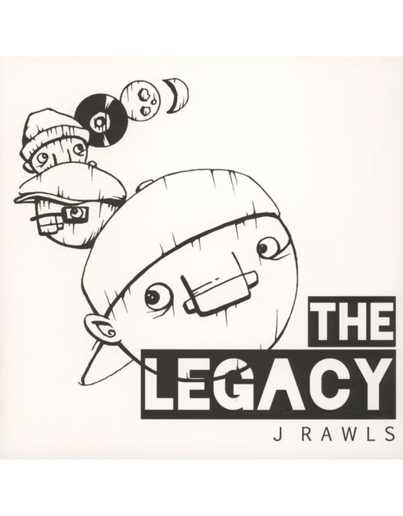 HH J. Rawls ‎– The Legacy LP