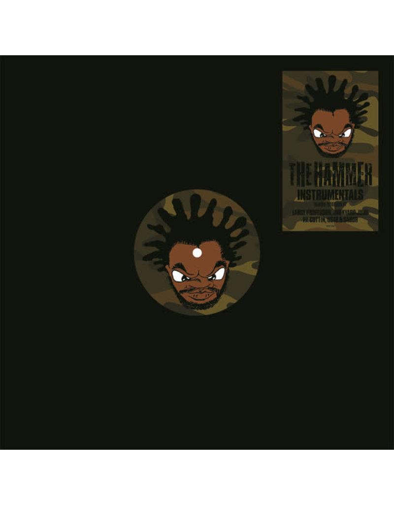 "HH Jeru The Damaja – The Hammer Instrumentals 12"""