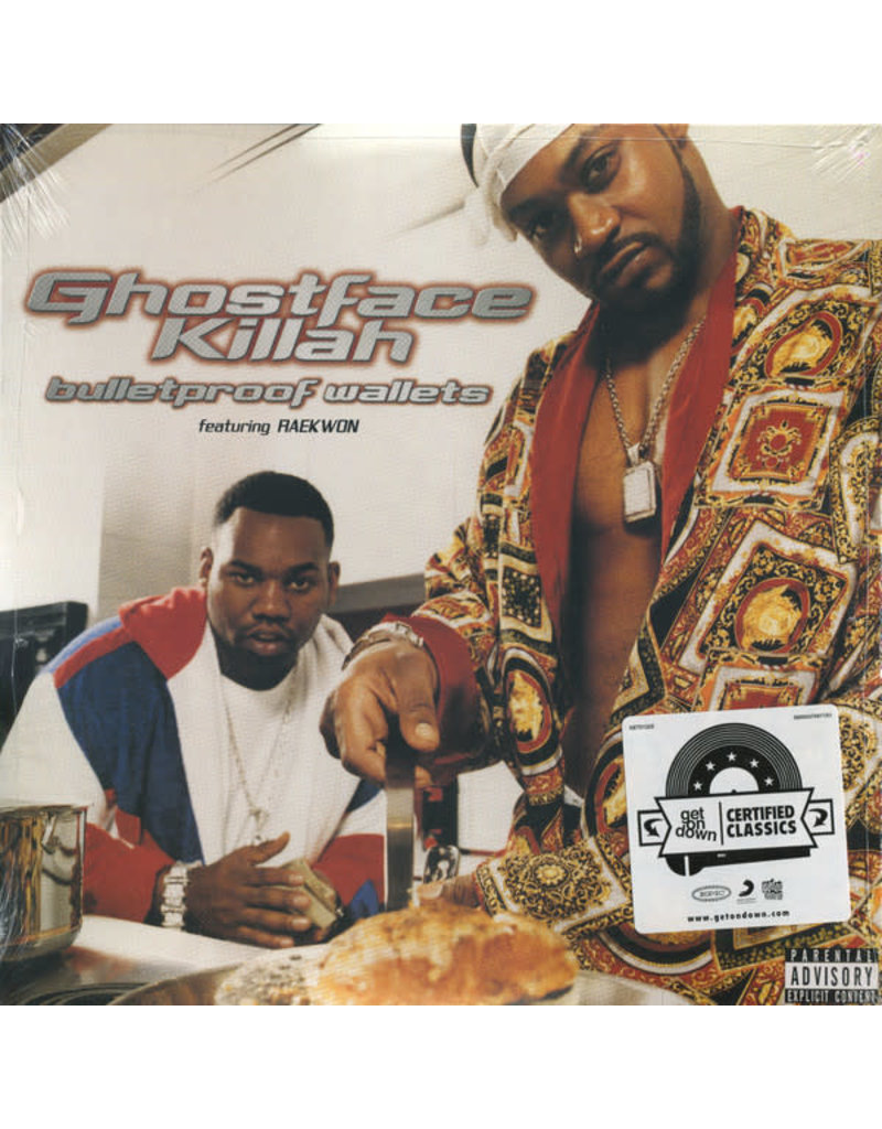 HH Ghostface Killah ‎– Bulletproof Wallets 2LP