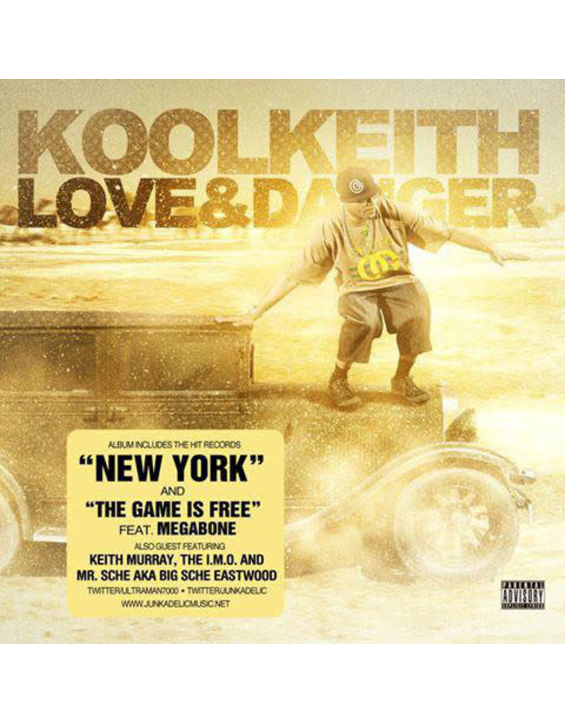HH Kool Keith - Love & Danger 2LP