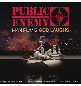 HH Public Enemy - Man Plans God Laughs LP