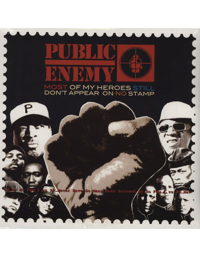 HH Public Enemy – Most Of My Heroes Still Don't Appear On No Stamp 2LP