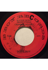 HH Boogie Down Productions ‎– Super Hoe / Criminal Minded 7""