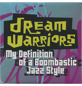 HH Dream Warriors ‎– My Definition Of A Boombastic Jazz Style 7""