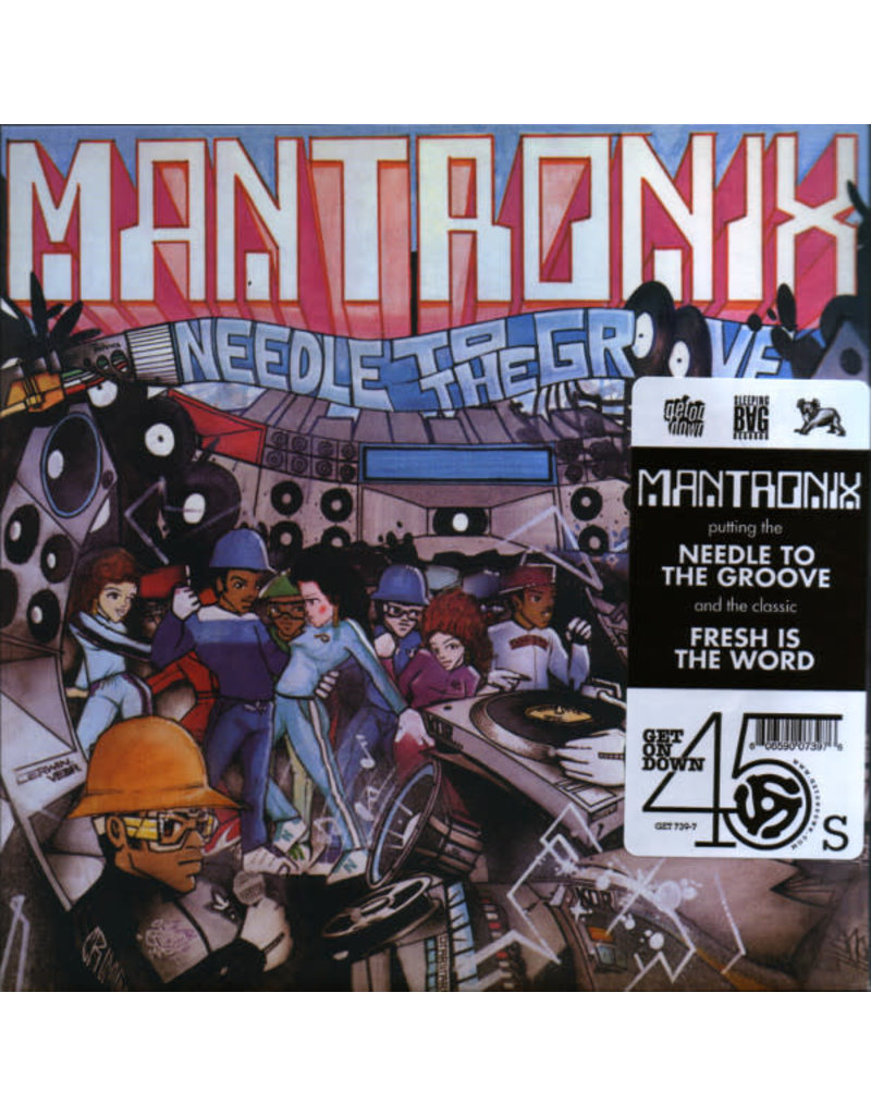 HH Mantronix ‎– Needle To The Groove / Fresh Is The Word 7""
