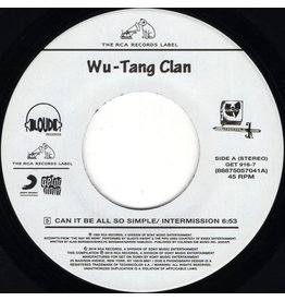 """HH Wu-Tang Clan – Can It Be All So Simple 7"""""""