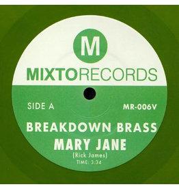 """Breakdown Brass – Mary Jane / The Horseman (Green Vinyl) 7"""""""