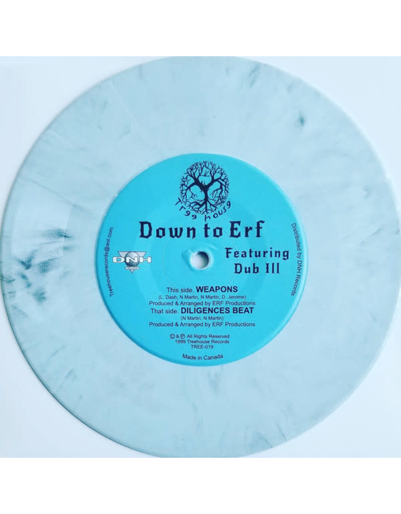 HH Down To Erf Featuring Dub Ill ‎– Weapons (Limited Coloured Vinyl) 7""