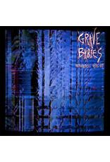 RK Grave Babies – Holographic Violence LP (2015), Blue w/ Red and Black Spots