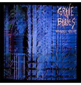 RK Grave Babies ‎– Holographic Violence LP (2015), Blue w/ Red and Black Spots