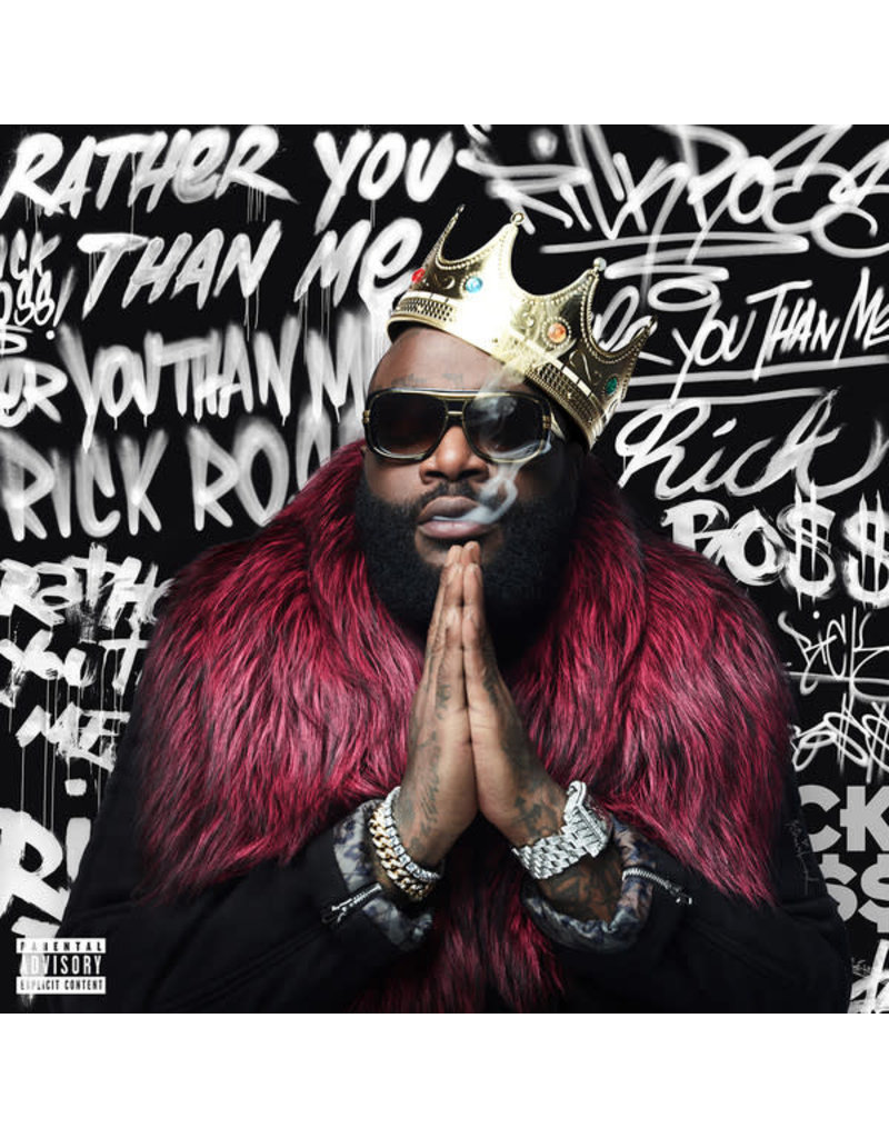 HH Rick Ross ‎– Rather You Than Me 2LP