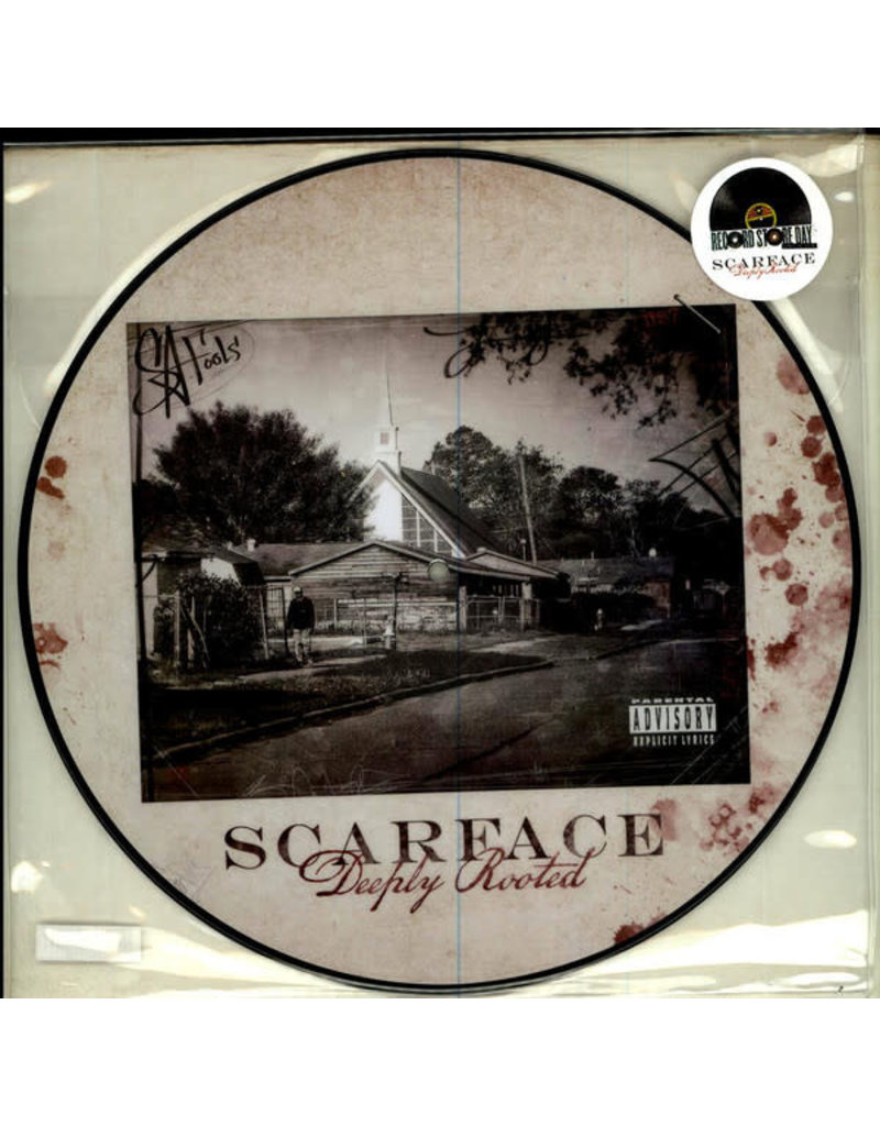 HH Scarface ‎– Deeply Rooted (Picture Disc) 12""