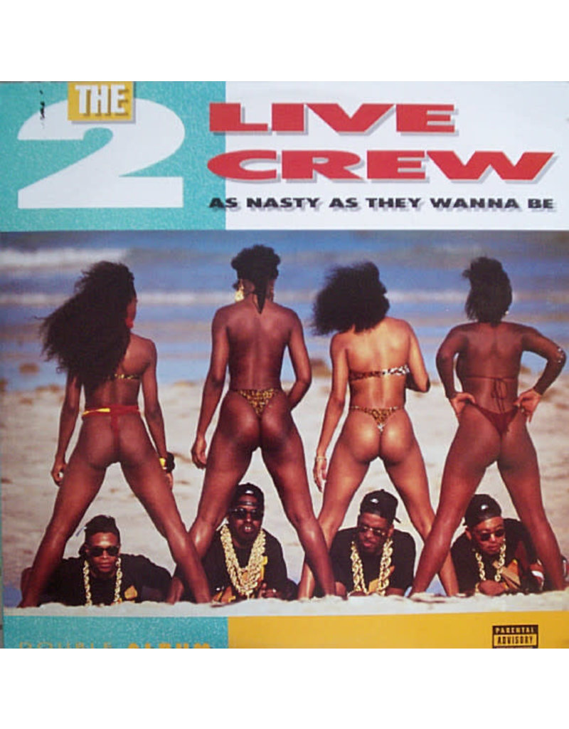 HH The 2 Live Crew ‎– As Nasty As They Wanna Be 2LP