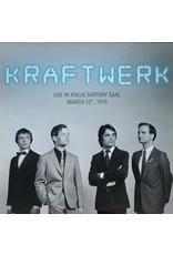 EL Kraftwerk – Live In Koeln Sartory Saal, March 22nd, 1975 LP