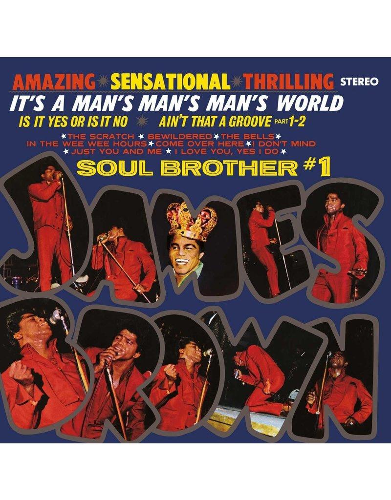 James Brown ‎– It's A Man's Man's World: Soul Brother #1 LP
