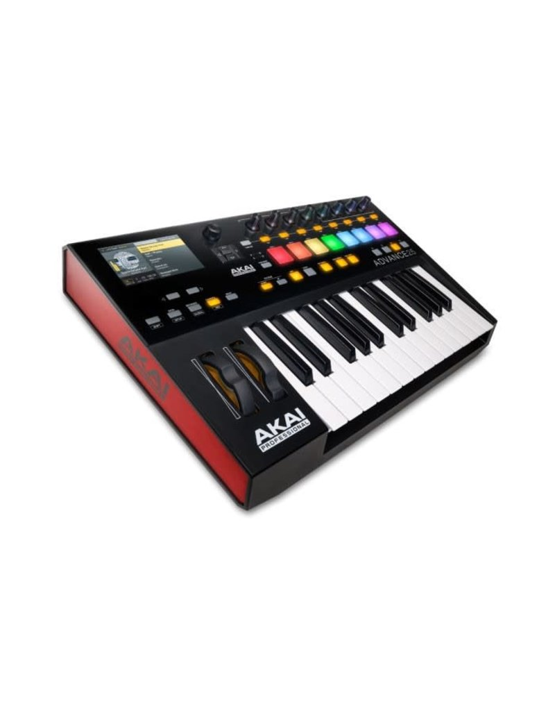 AKAI AKAI - ADVANCE 25 SOFTWARE/CONTROLLER SYSTEM