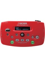 BOSS Vocal Performer Effects Processor, red (VE5RD)