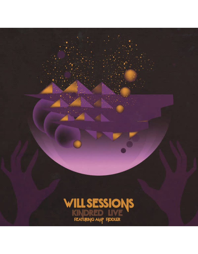 HH Will Sessions Featuring Amp Fiddler ‎– Kindred Live LP