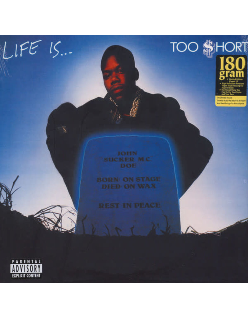 HH Too $hort – Life Is...Too $hort LP