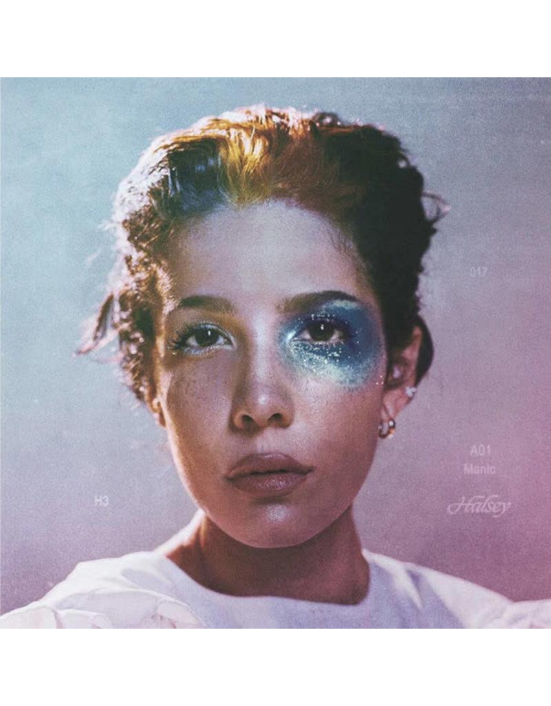 PO Halsey - Manic LP (2020), Clear Milky Vinyl
