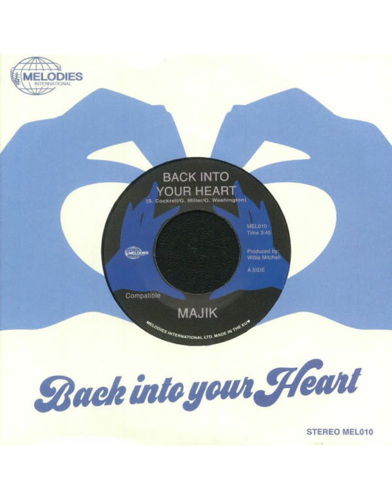 """Majik – Back Into Your Heart 7"""""""