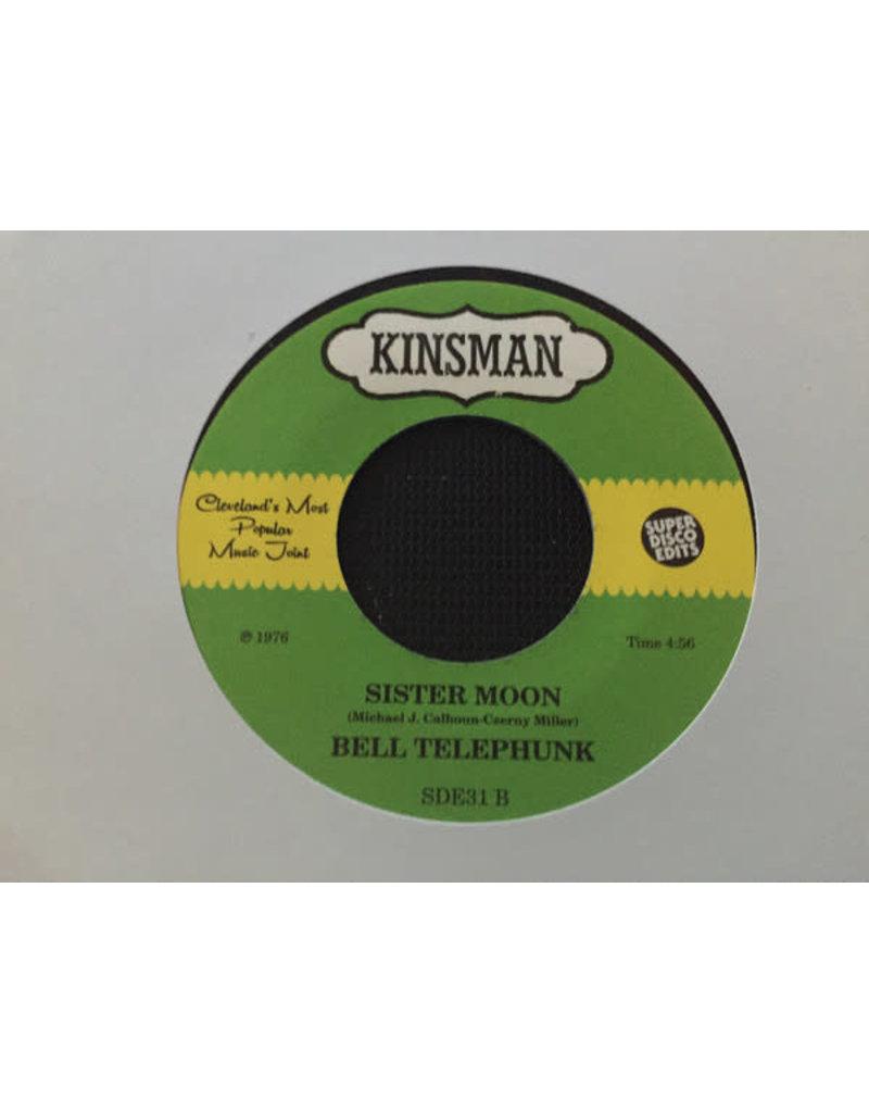 "FS Bell Telephunk – Ain't No Tellin' / Sister Moon 7"""