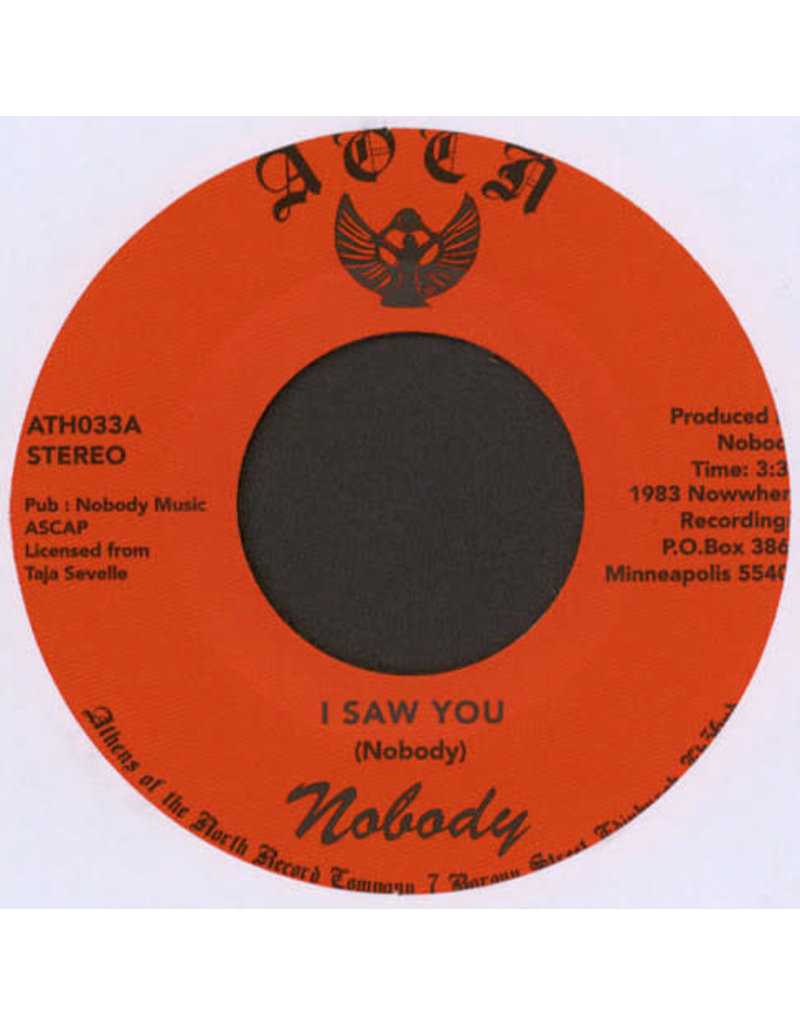 FS Nobody ‎– I Saw You 7""