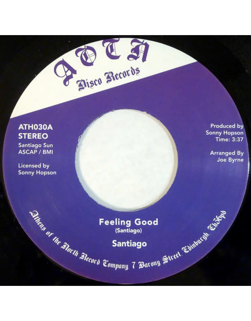 FS Santiago ‎– Feeling Good 7""