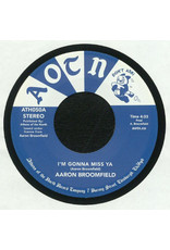 FS Aaron Broomfield / Broomfield Corporate Jam ‎– I'm Gonna Miss Ya / Does Anybody Really Know 7""