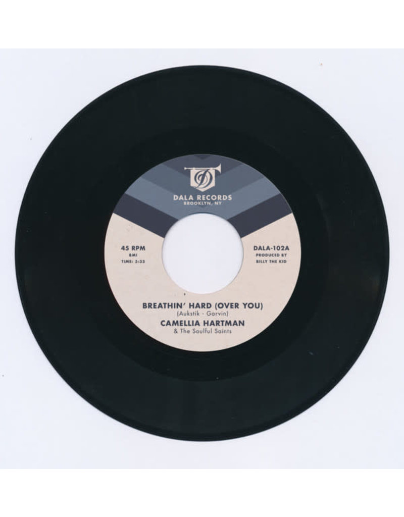FS Camellia Hartman ‎– Breathin' Hard (Over You​) /​ Return The Favor 7""