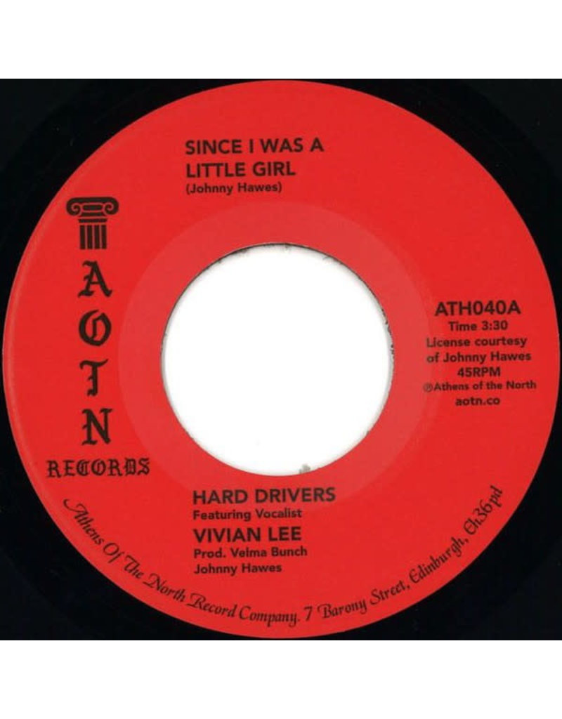 FS Hard Drivers feat Vivian Lee ‎– Since I Was A Little Girl 7""