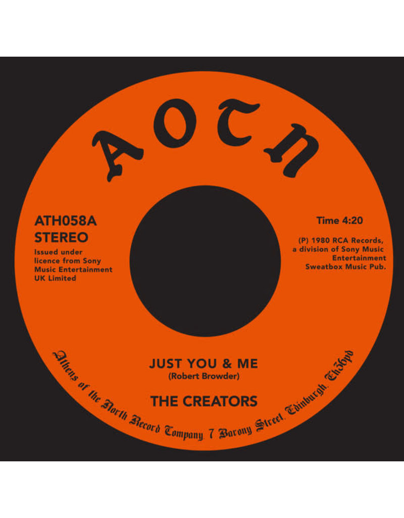 FS Creators – Just You & Me / Blame It On Me 7""