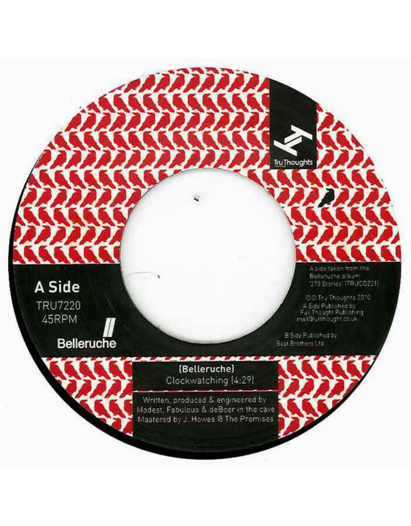 FS Belleruche ‎– Clockwatching / Mirror In The Bathroom 7""