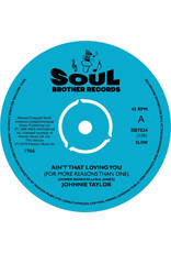 FS Johnnie Taylor ‎– Ain't That Loving You (For More Reasons Than One) 7""