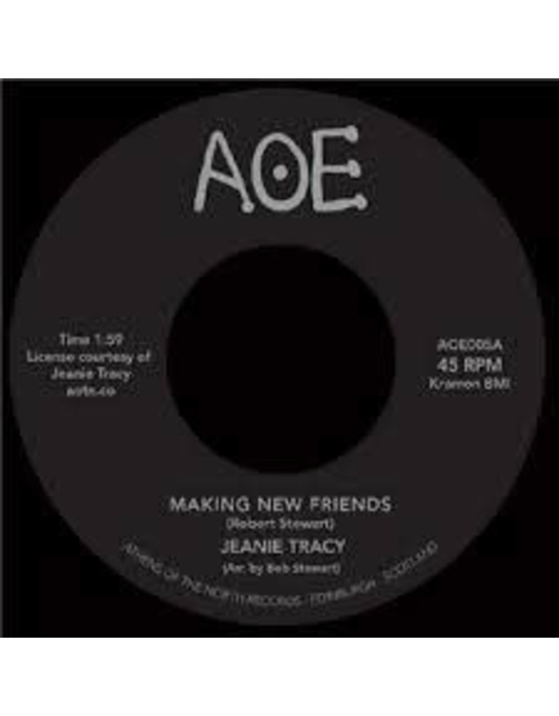 FS Jeanie Tracy ‎– Making New Friends 7""