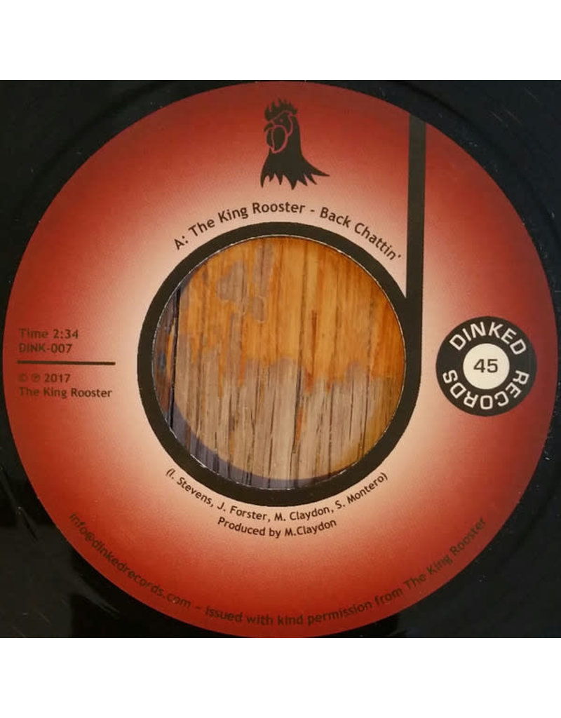 """FS The King Rooster – Back Chattin' / Fat Chance 7"""""""
