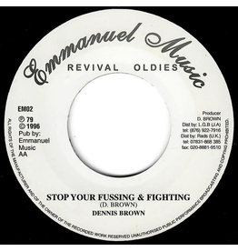 RG Dennis Brown - Stop Your Fussing & Fighting / Together Brothers 7""
