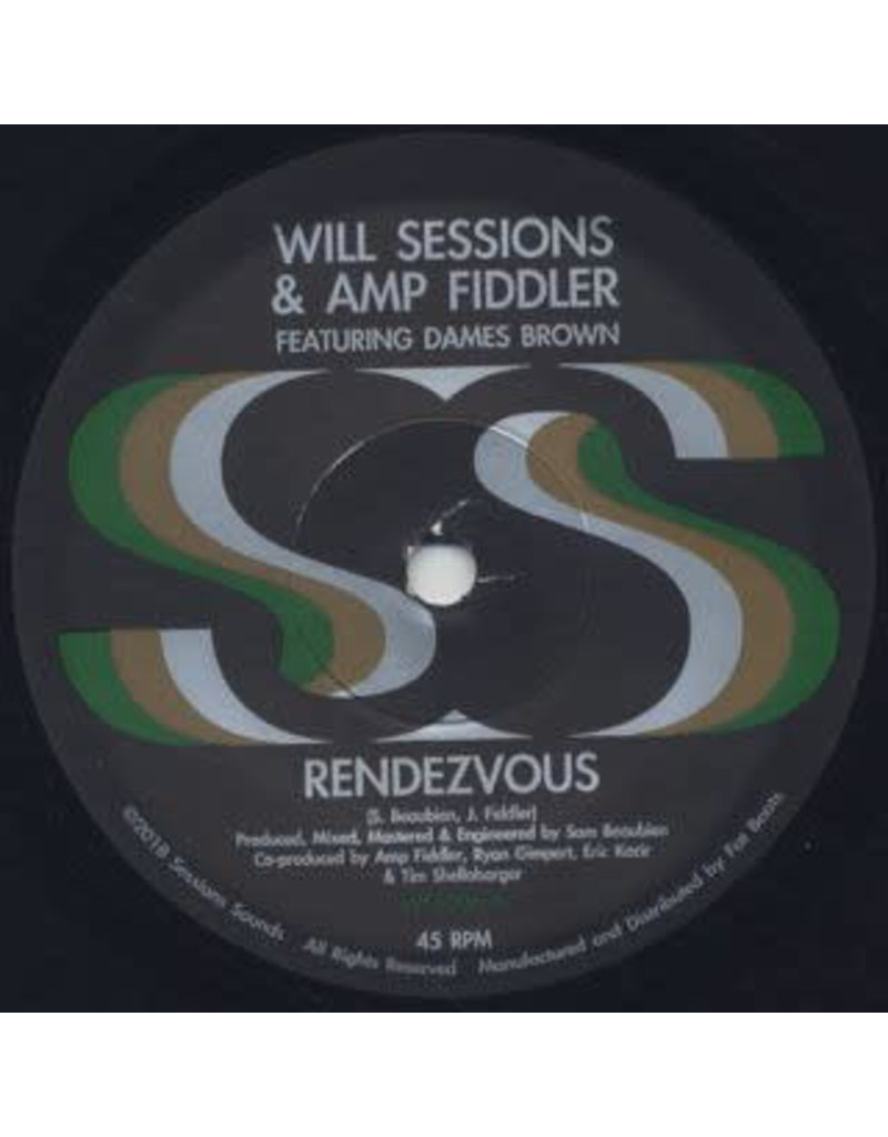 FS Will Sessions & Amp Fiddler Featuring Dames Brown ‎– Rendezvous 7""