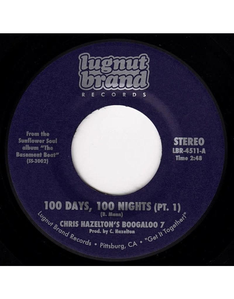 "FS Chris Hazelton's Boogaloo 7 – 100 Days, 100 Nights (Pt. 1 & 2) 7"""