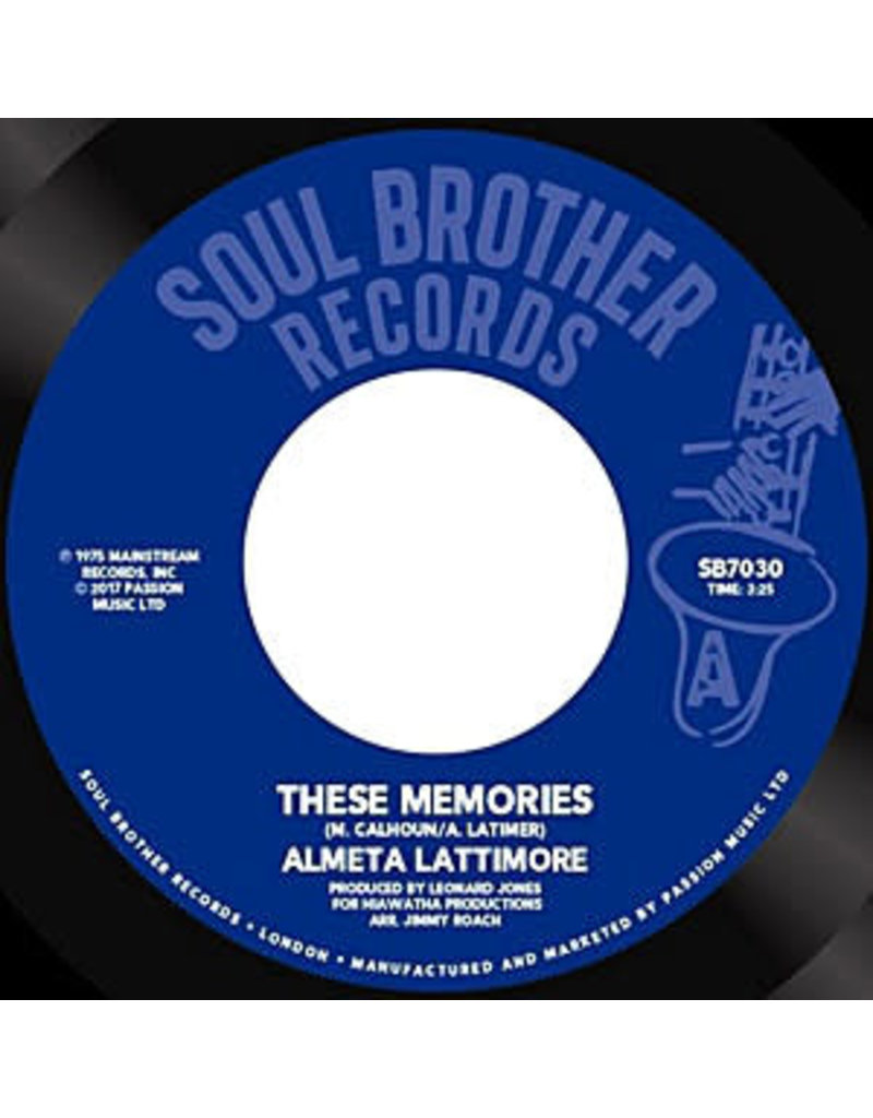 """FS Almeta Lattimore – These Memories 7"""""""