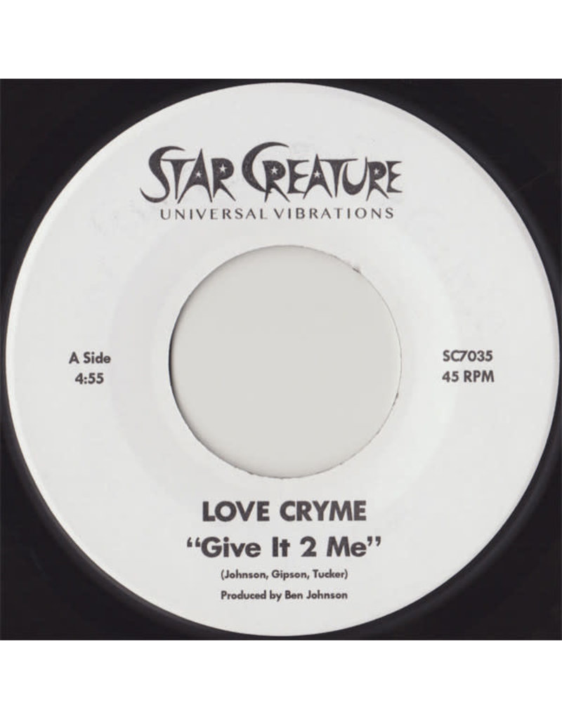 """FS Love Cryme – Give It 2 Me / She's So Freaky 7"""""""