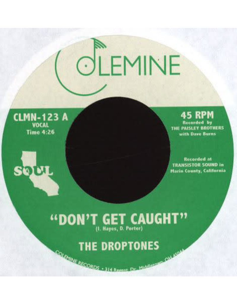 "FS The Droptones - Don't Get Caught b/w Young Blood (7"")"