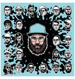 HH DR. DUNDIFF & FRIENDS - S/T (BLUE MARBLE VINYL) LP