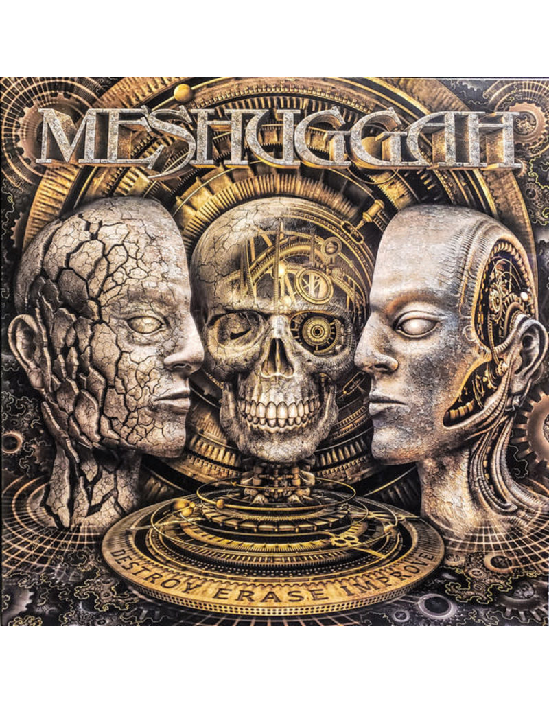 RK Meshuggah ‎– Destroy Erase Improve (Beer Vinyl) 2LP
