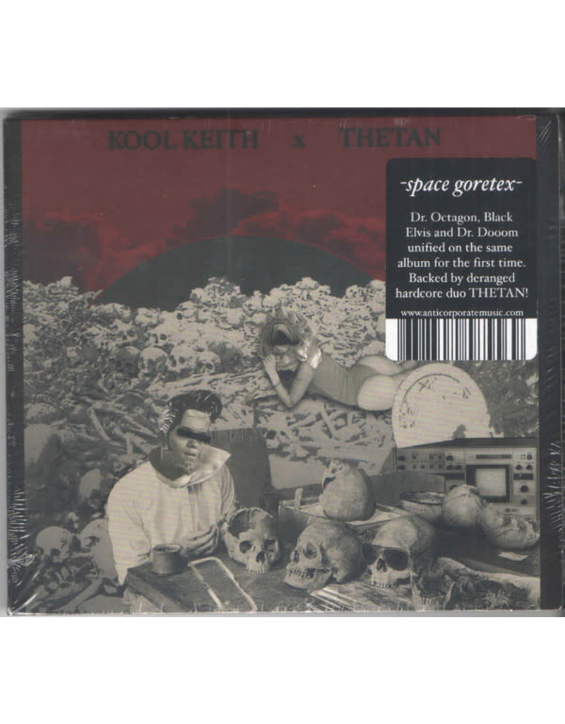 Kool Keith X Thetan ‎– Space Goretex CD