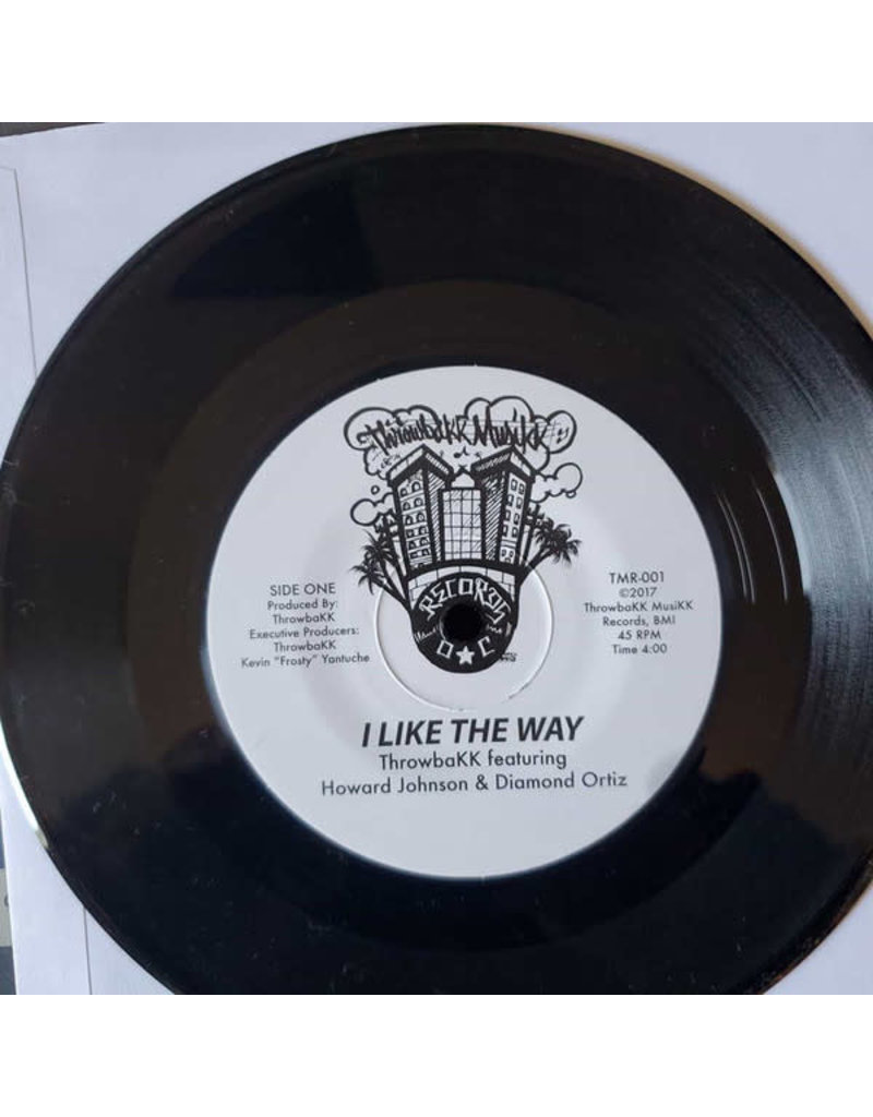ThrowbaKK ‎– I Like The Way 7""
