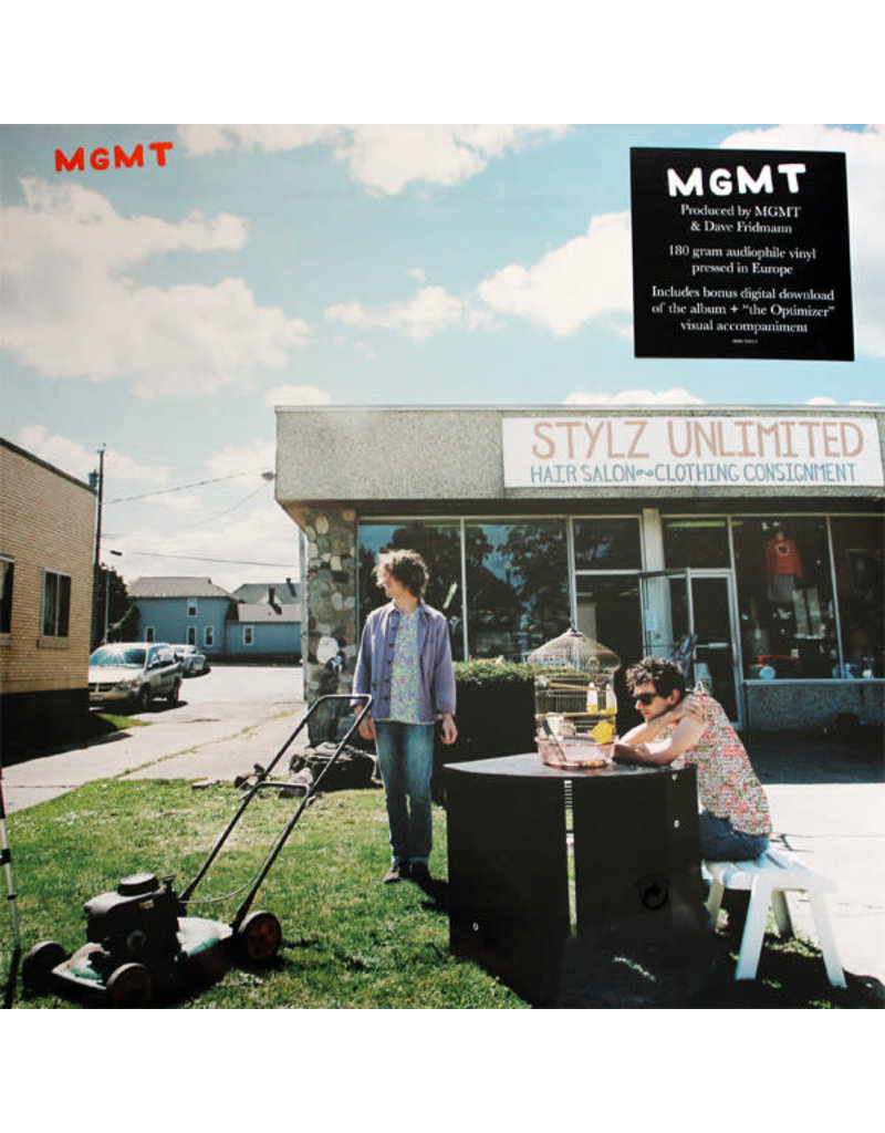 RK MGMT - MGMT LP (180G)