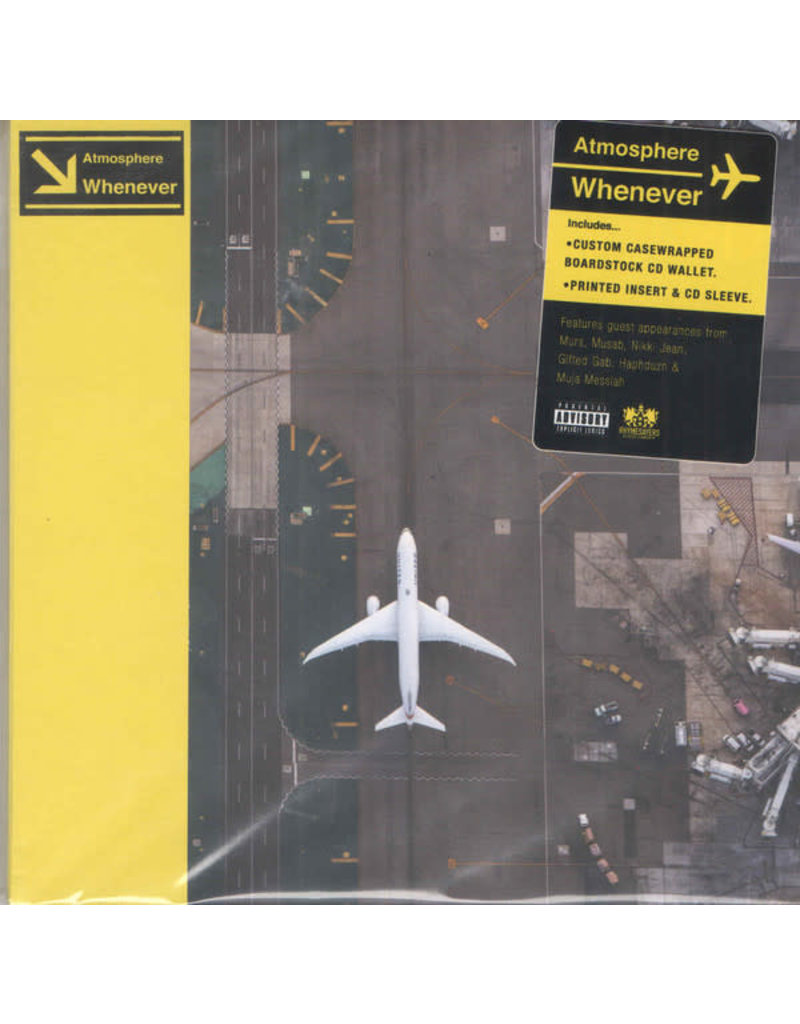 Atmosphere – Whenever CD