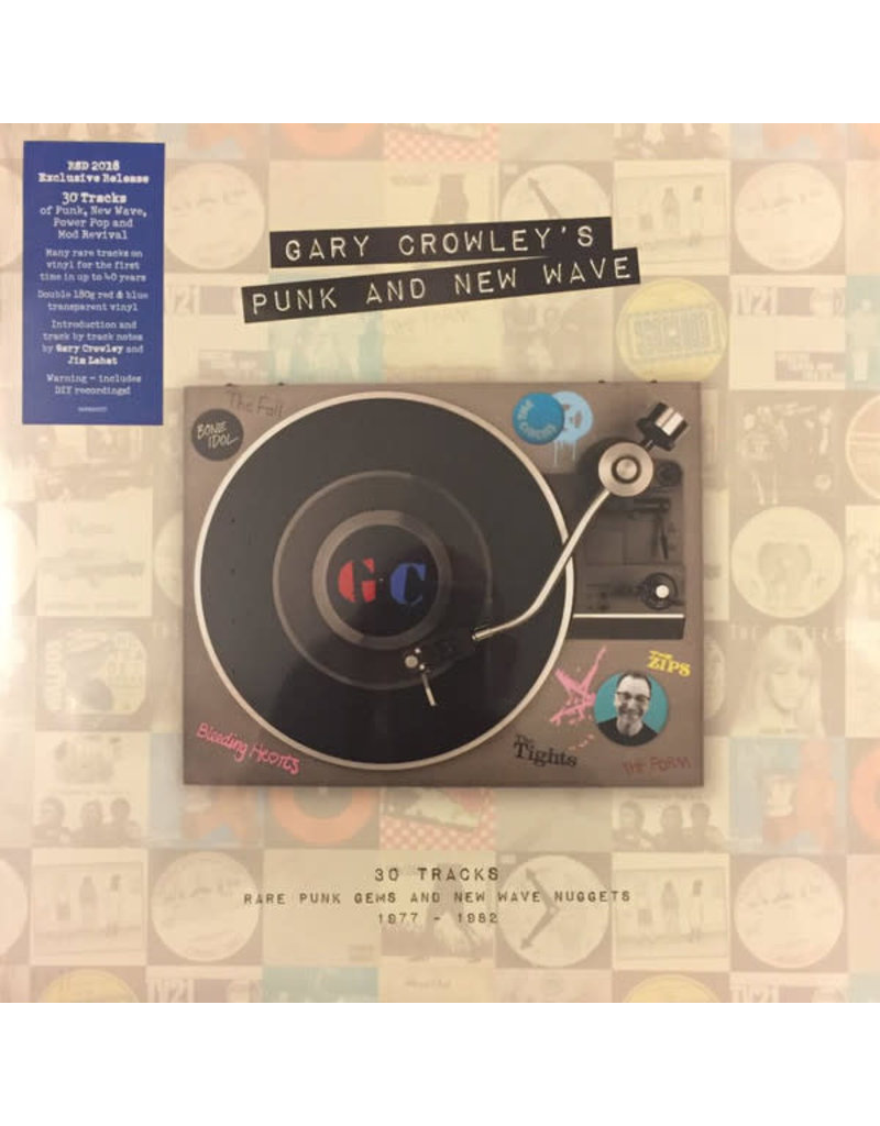 RK Gary Crowley ‎– Punk And New Wave 2LP