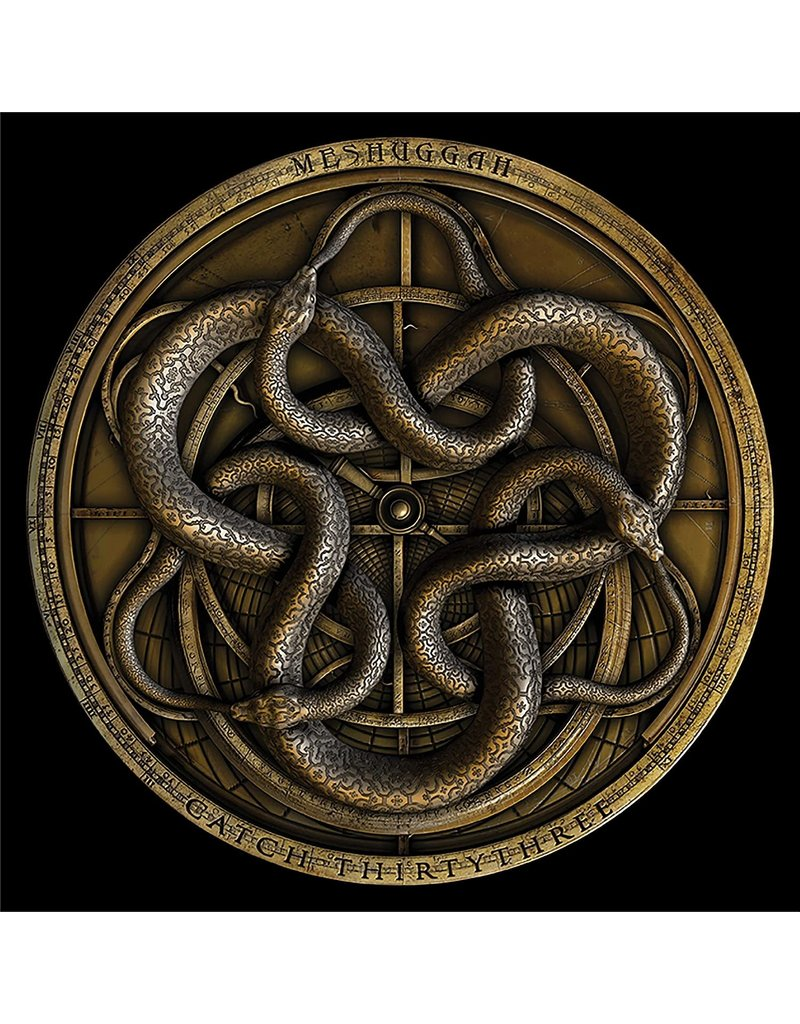 RK Meshuggah – Catch Thirtythree (Gold Vinyl) 2LP